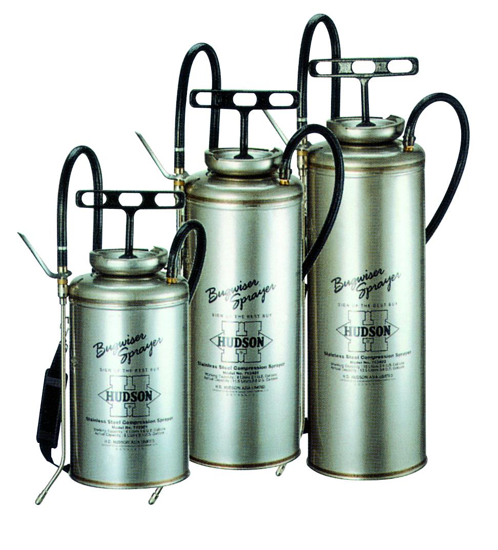 BUGWISER ®型不锈钢储压式喷雾器
