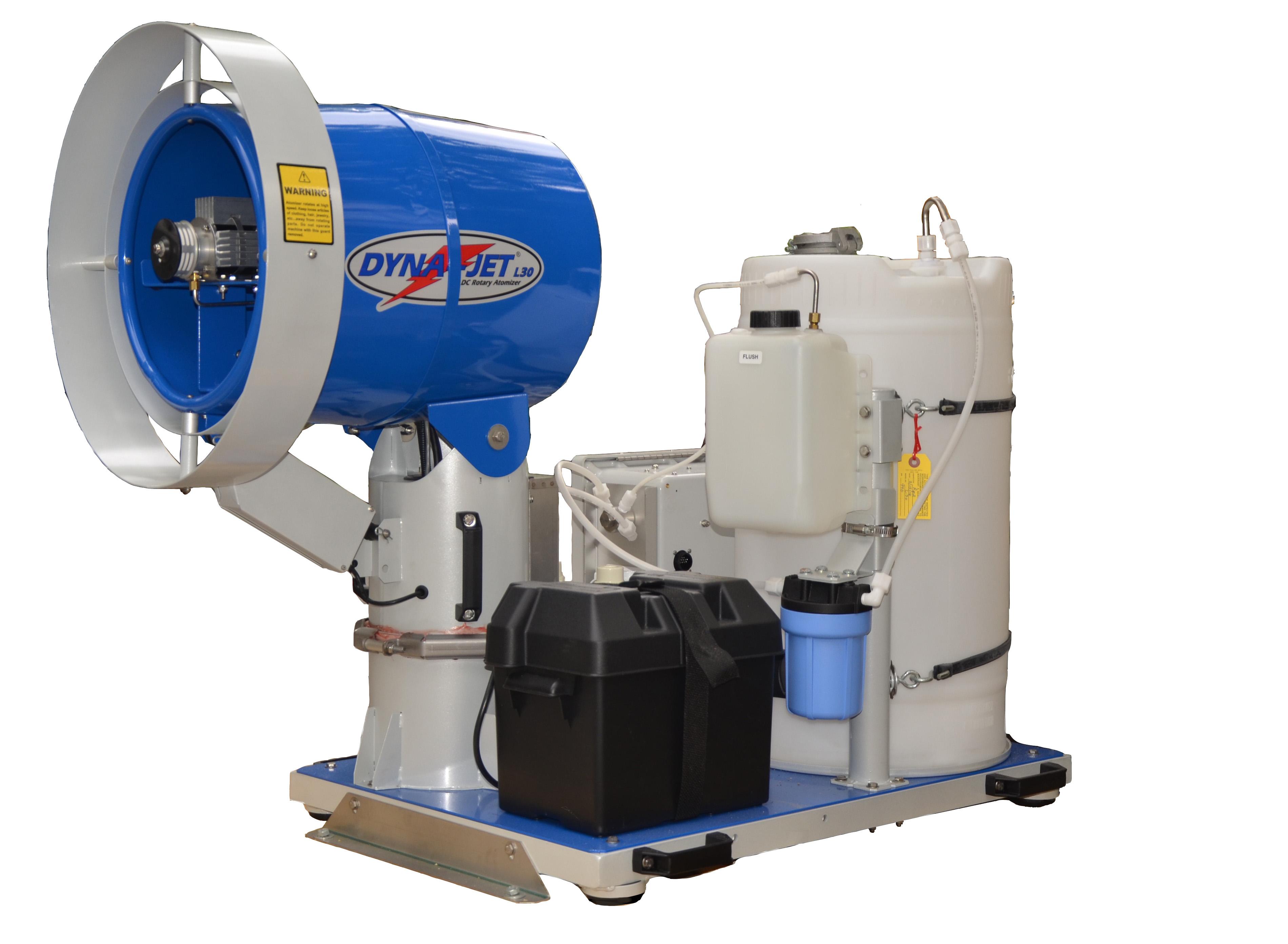 美国DYNA车载式超微粒充电喷雾机 L30